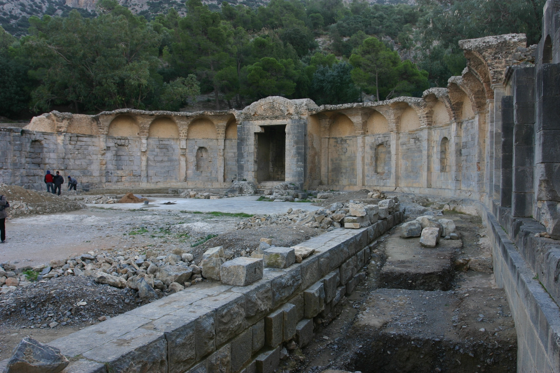 Water temple of Zaghouan